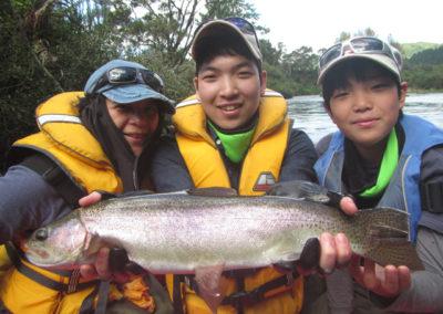 Atsushi, Satoru & Chise Sugii
