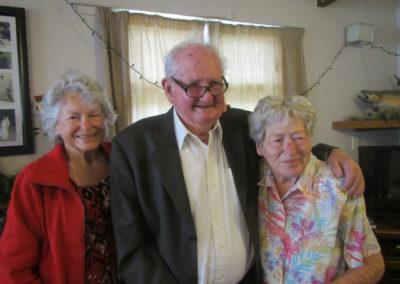 Christmas with Grandad, Nanny, Mary