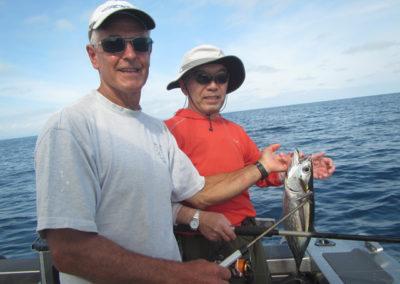 Graham & Igurshi with Sashimi