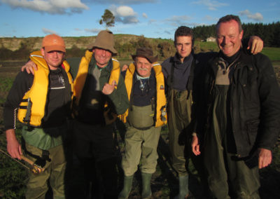 Jonathan & Joseph Webb, Ian & Malcolm Carry