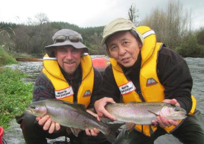 Michael and Matsuo san
