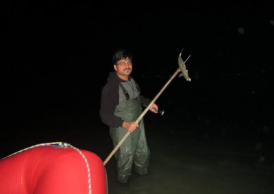Night fishing with Jaymon