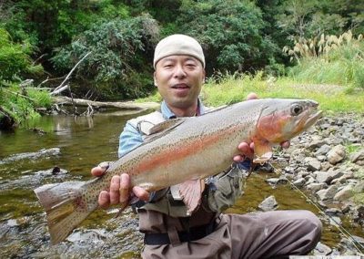 Small Stream, Big Fish for Hide san